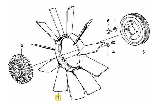 Helice Radiador 3 Furos Bmw 316i 318i 323i 325i 328i M3