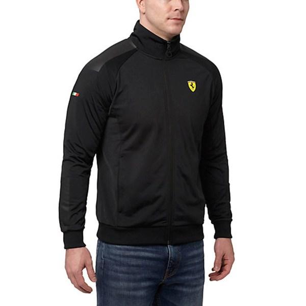 Sudadera Scuderia Ferrari Track Jacket Hombre 02 Puma