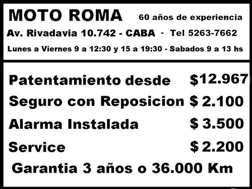 Honda Cb 190 18ctas$12.404 Consultar Contado Repsol Mroma
