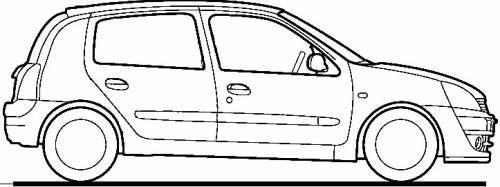 Horquilla 5a Quinta Caja Velocidades Clio Platina Renault