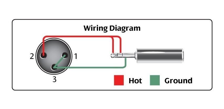 Hosa Cable Para Microfono Video Xlr A Mini Plug Alta