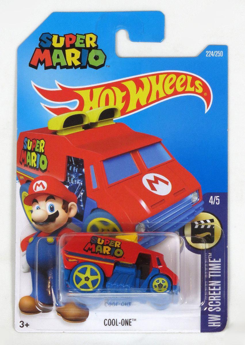 Hots Wheels Mario Bros - $ 80.00 en Mercado Libre