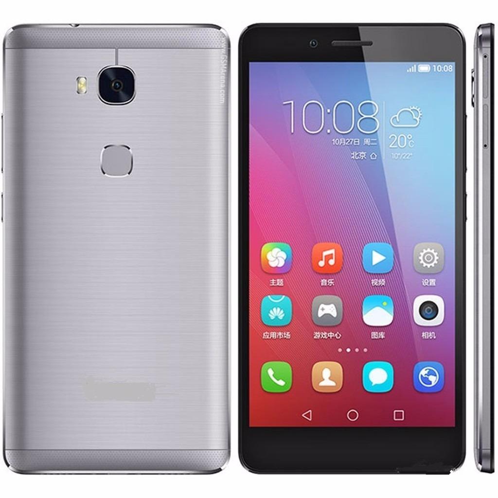 Huawei Gr5 Sensor Huella Dual Sim 16gb Celular Huawei Plata+ - $ 685.990 en Mercado Libre