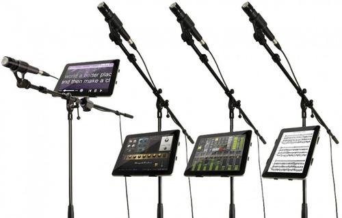 Iklip 2 Soporte Para iPad Ministand Mic Para Dj Musico Pro