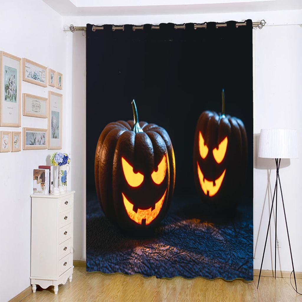 Impermeable De Halloween De Miedo Ducha Cortina De Bao   14584 en Mercado Libre