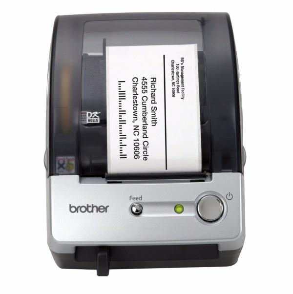 Impresora De Etiquetas Brother -touch Ql-500 Sistema Manual - 2 399.00 En Mercado Libre