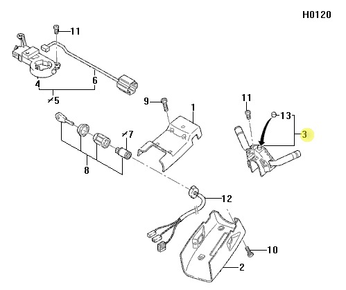Mercedes E320 Headlight Harness