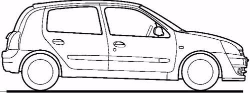 Interruptor Switch Elevador Izq. Manual Platina Clio