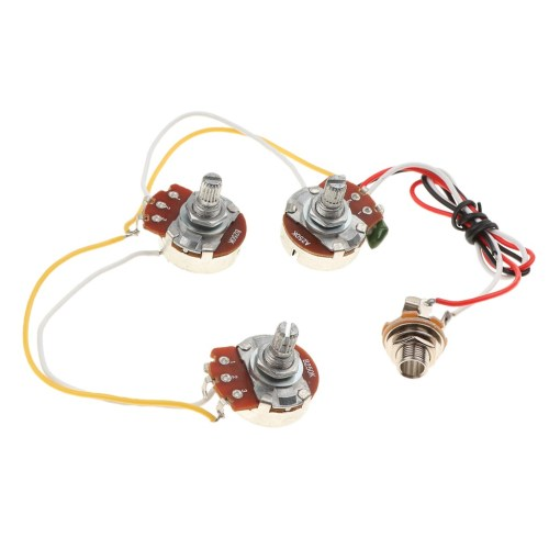 small resolution of jazz bass circuit wiring kit tone volume a250k b250k potenti cargando zoom
