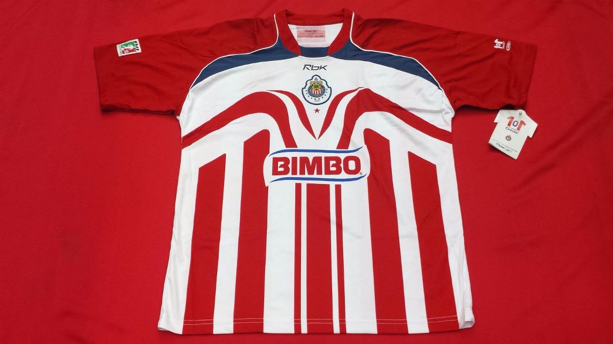 Jersey Chivas 2006 2007 Reebok Once Estrellas Original