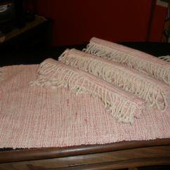 Sofa Usado No Mercado Livre Navy Chesterfield Bed Jogo Americano - Tecido Em Tear R$ 78,00