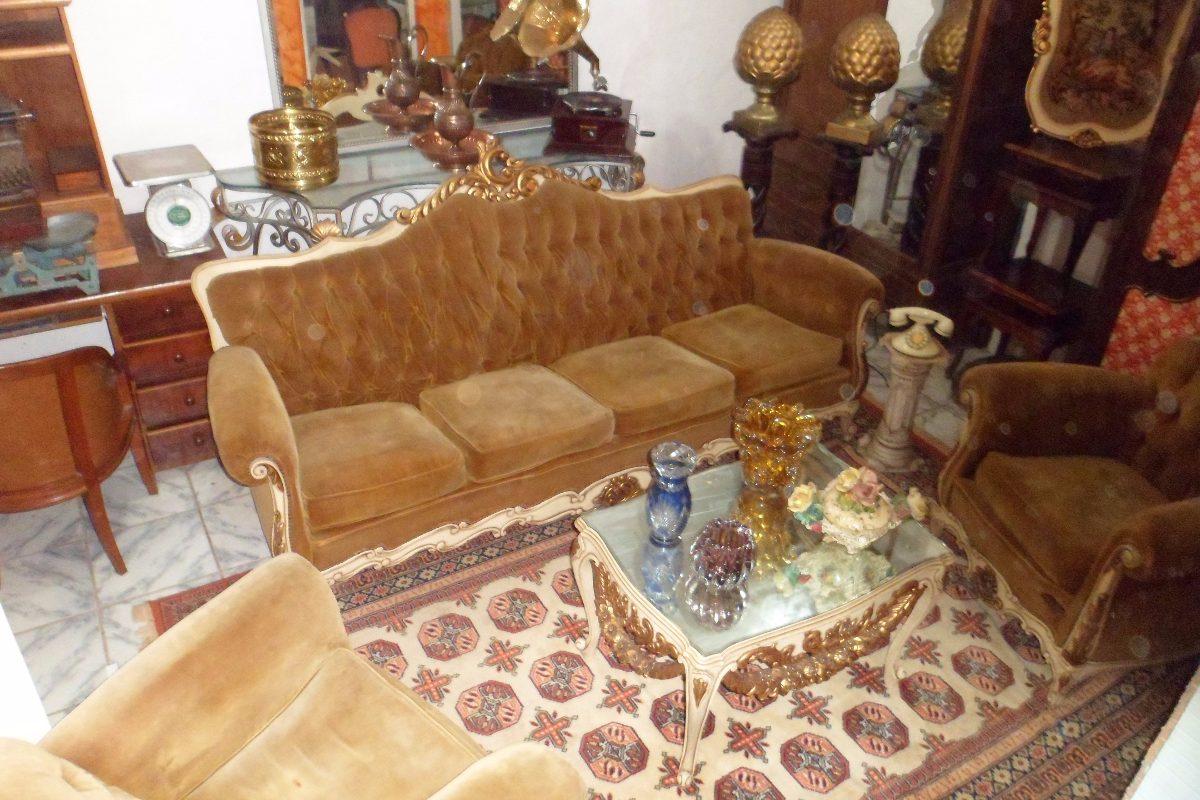 sofa usado olx rio de janeiro how to make a slipcover fit jogo sofá luis xv com mesinha centro r 13 800 00