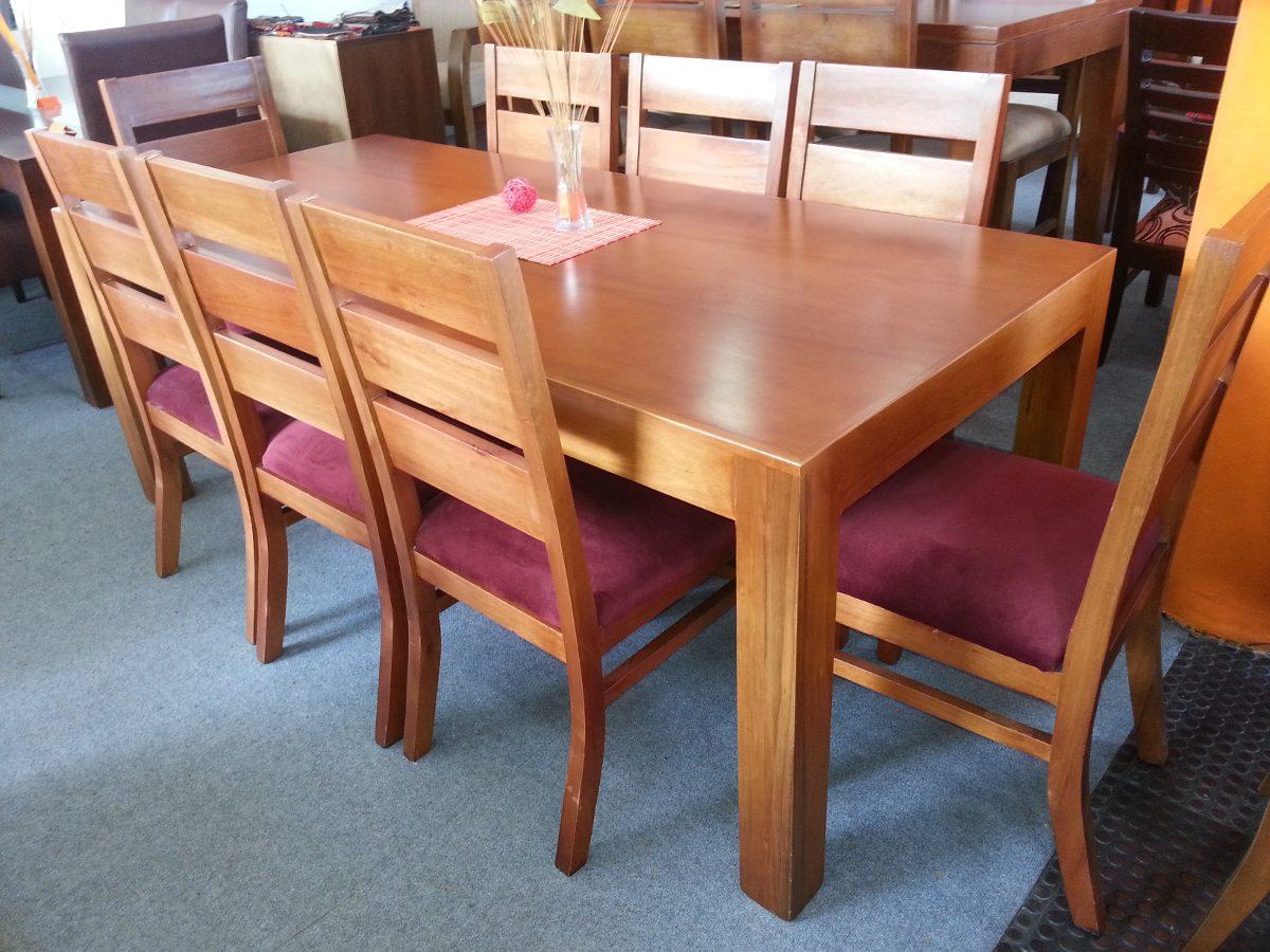 Juego De Comedor 8 Personas Mesa sillas   3169000 en
