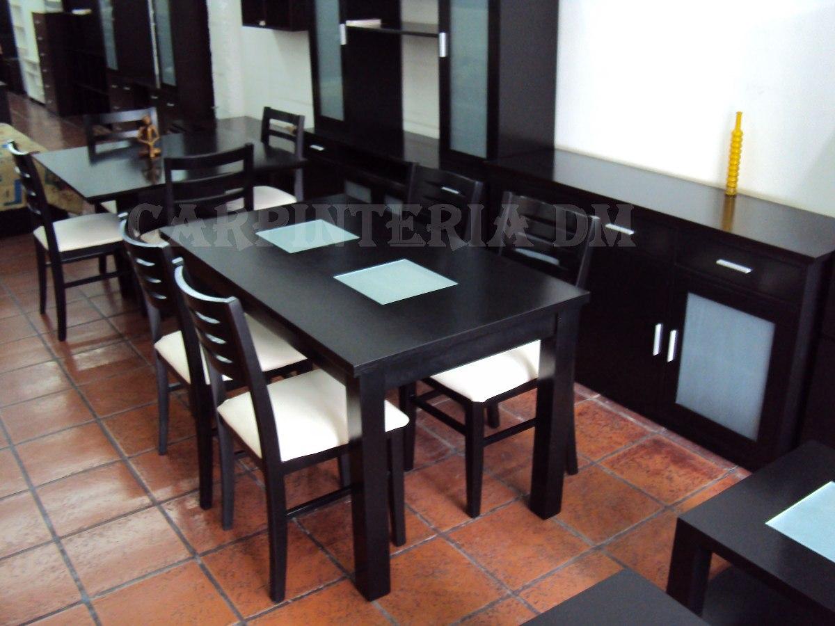 Juego De Comedor Moderno Mesa 140x80cm Y 4 Sillas