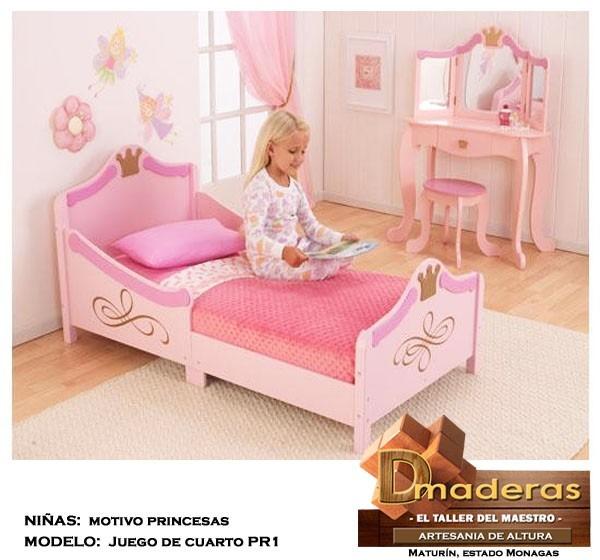 Muebles De Princesas  Litera Cama Princesas Castillo