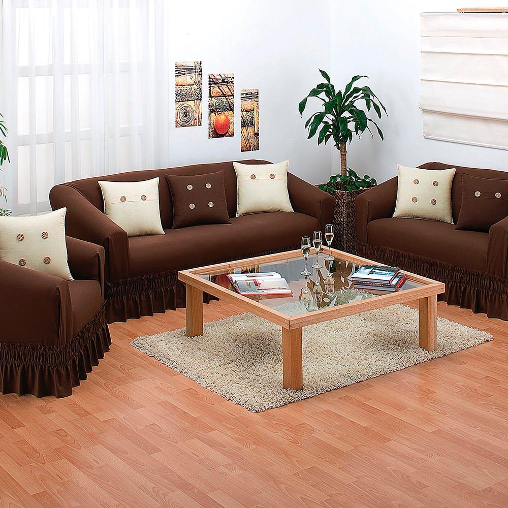 Juego De Cubre Sala Lavable En Casa Impermeable