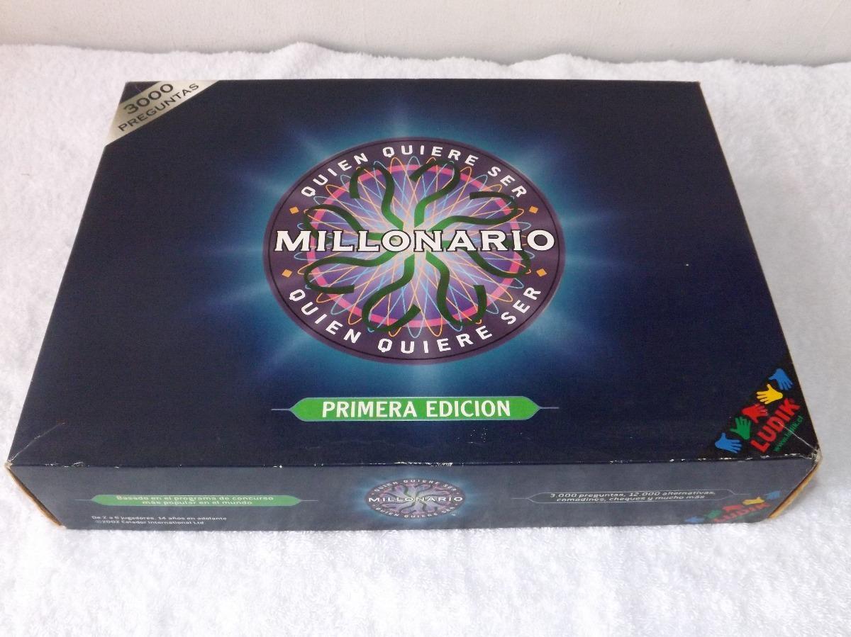 Juego De Mesa quin Quiere Ser Millonario  Bs 350000