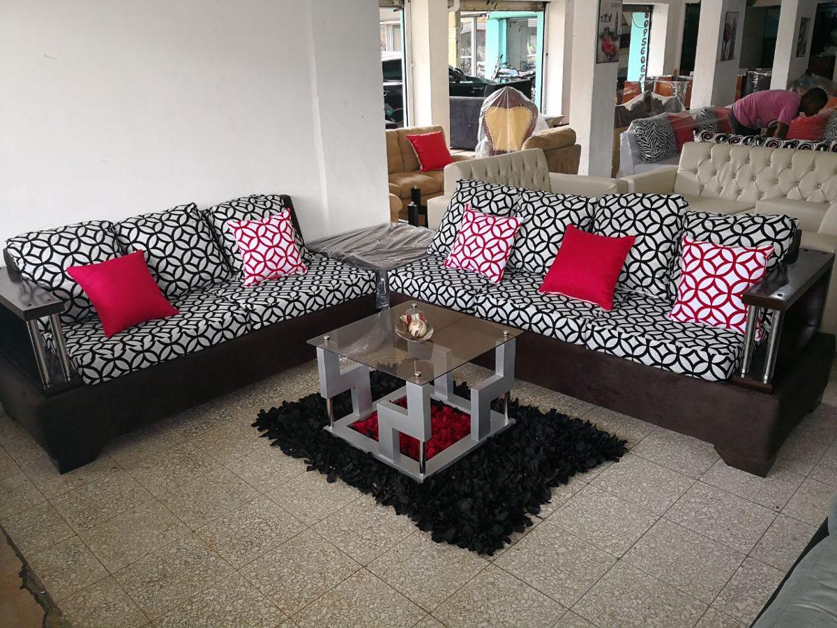Mueble L Negro