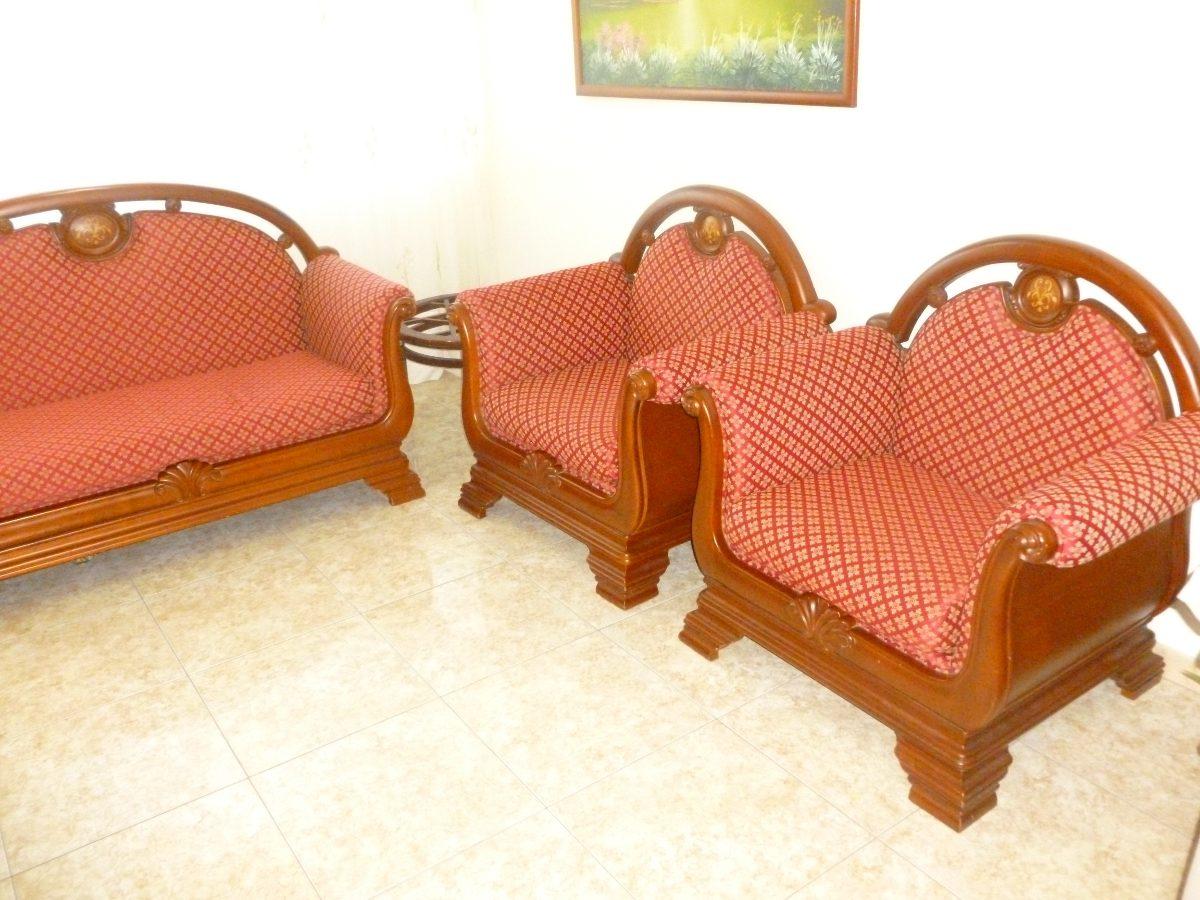 Juego De Muebles En Madera Ceiba  Bs 650000000 en Mercado Libre