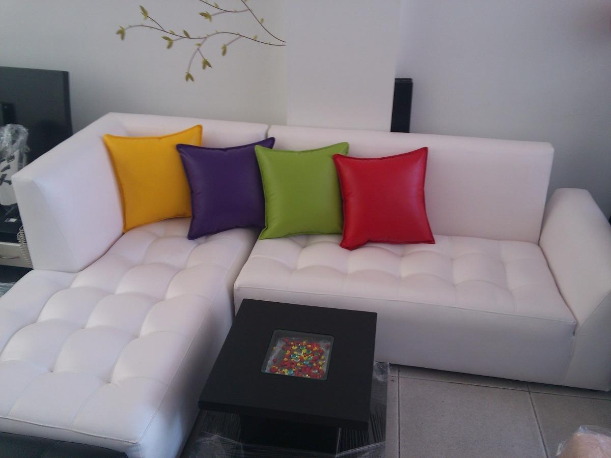 Juego De Sala En L Esquinera Promocin Variedad Colores