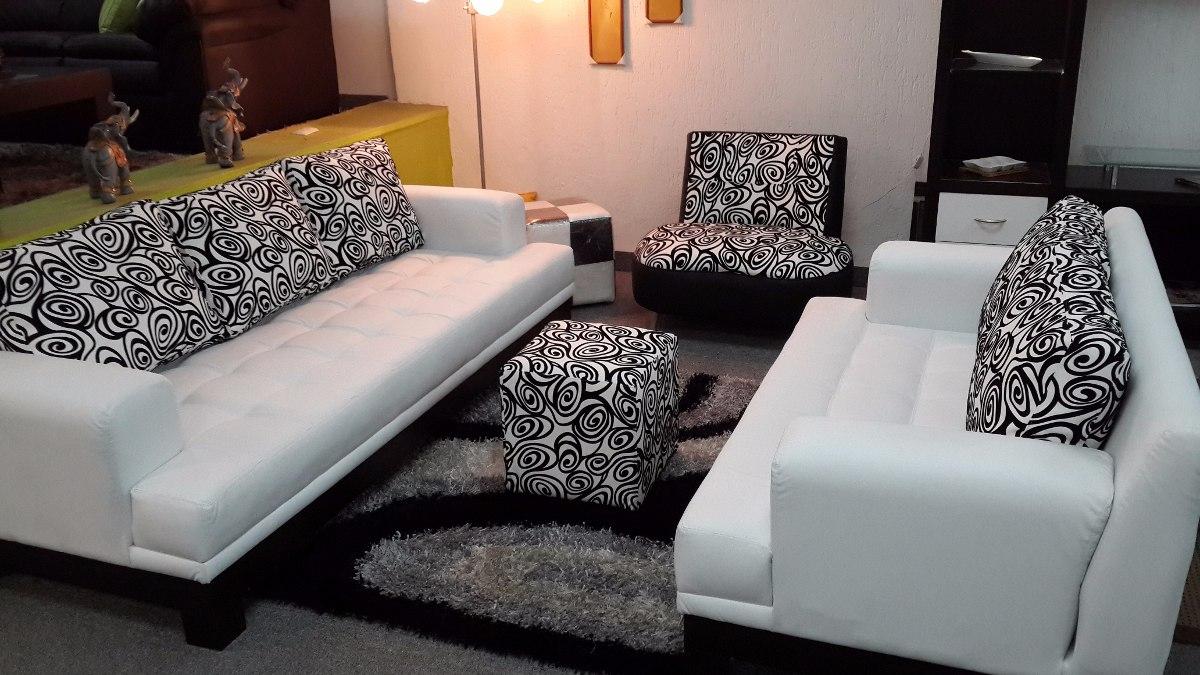 Juego De Sala Moderno Minimalista Sofa 3 Y Sofa 2 Puestos