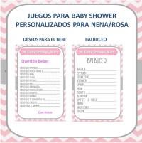 Juegos Baby Shower - Baby Shower Invitations