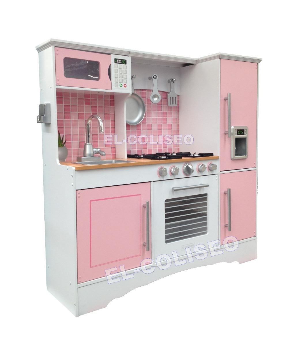 Juguete Para Casa Accesorios Kidkraft Color Rosa Nia