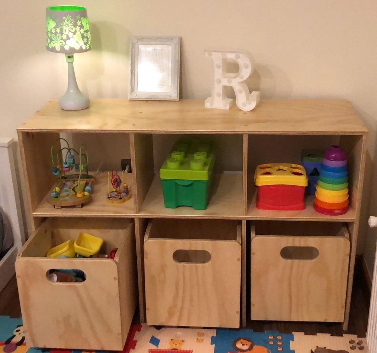 Mueble Juguetes Montessori