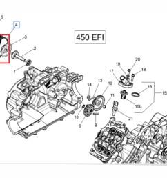 junta borracha motor quadriciclo outlander can am 400 450 carregando zoom  [ 1190 x 882 Pixel ]