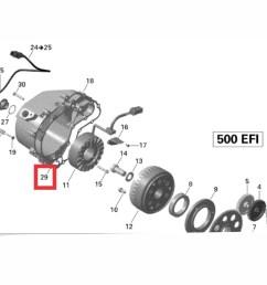 junta magneto motor quadriciclo utv canam outlander renegade carregando zoom  [ 1190 x 882 Pixel ]