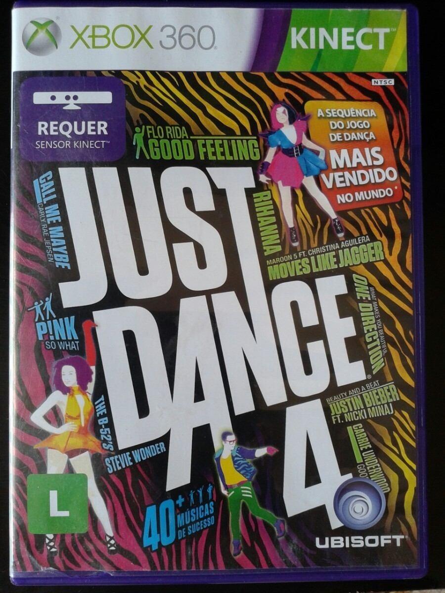 Just Dance 4 Xbox 360 Kinect Completo Mdia Fsica