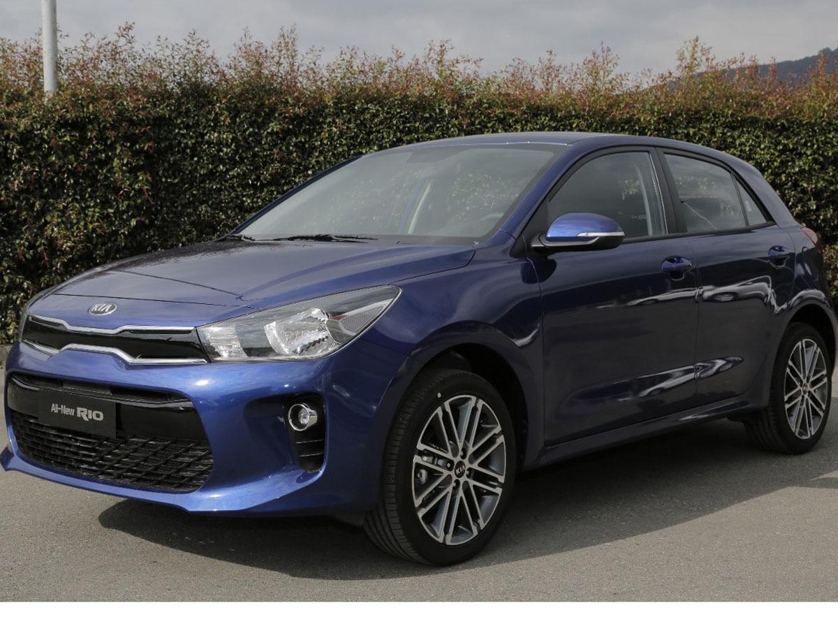 Kia Rio 2019 Hatchback Mecnico Azul Cali   52090000