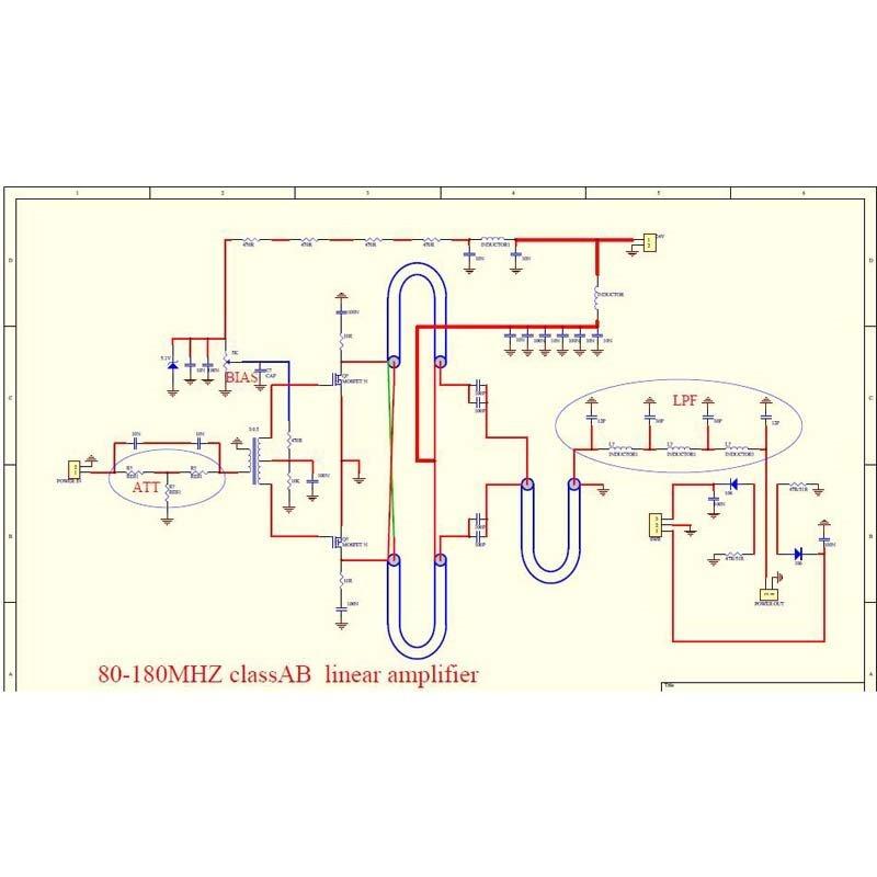 Kit Amplificador Montar Rf 100 W Fm Vhf 80 Mhz-170 Mh Mrf186 - R$ 249,00 em Mercado Livre