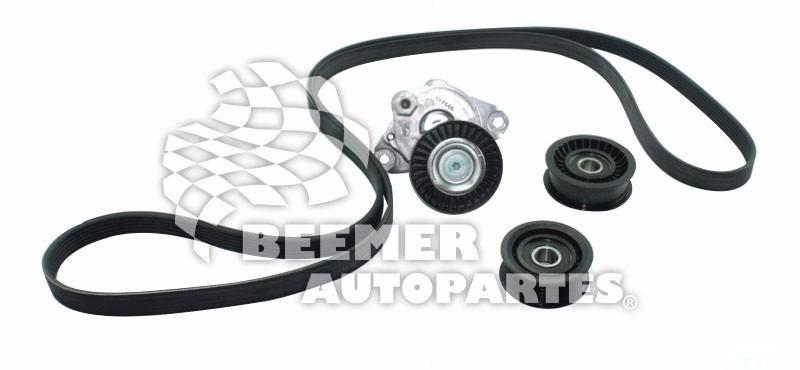Kit Banda Alternador Mercedes Benz C230 C280 C350 E350