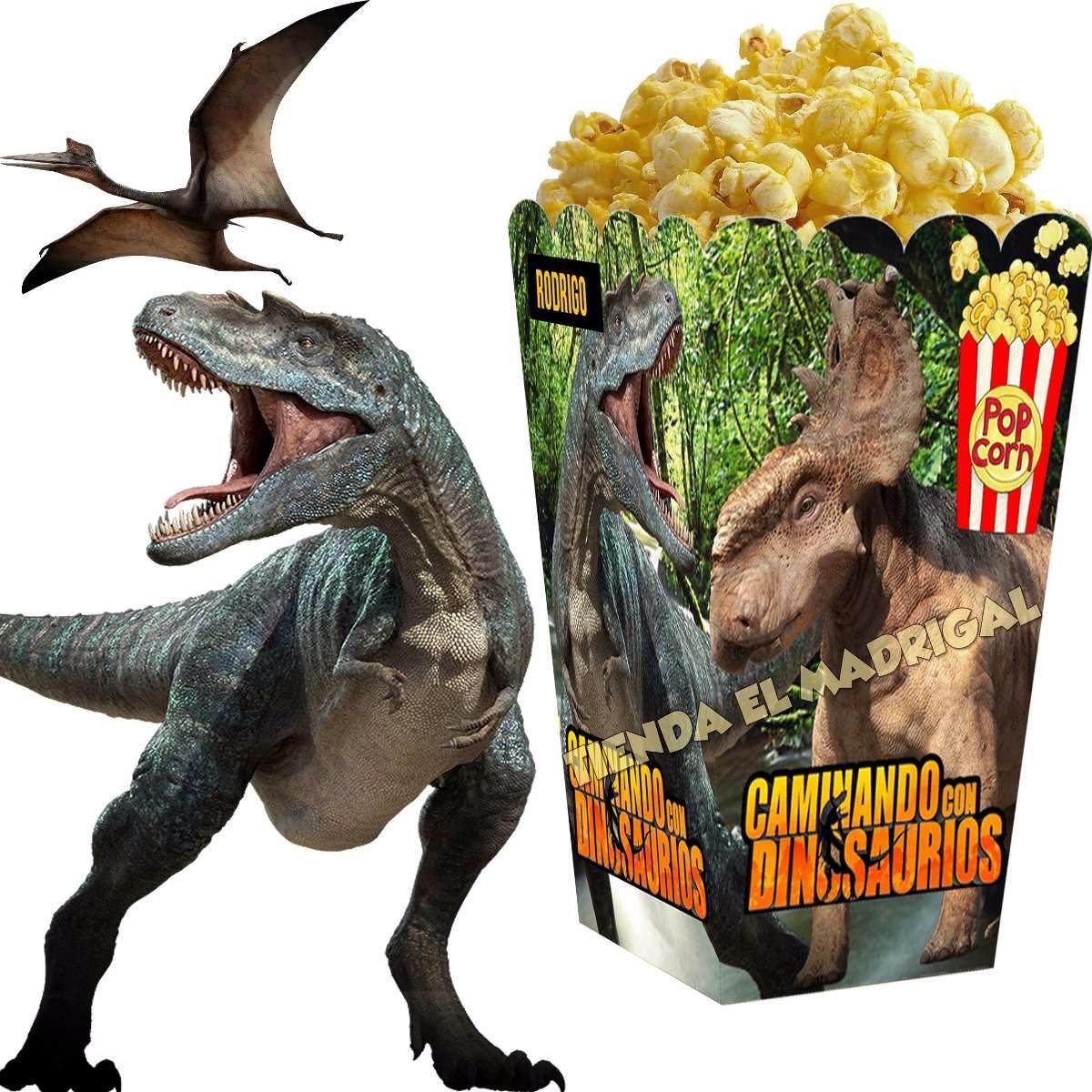 Kit Imprimible Dinosaurios Candy Bar Golosinas Cumpleaos