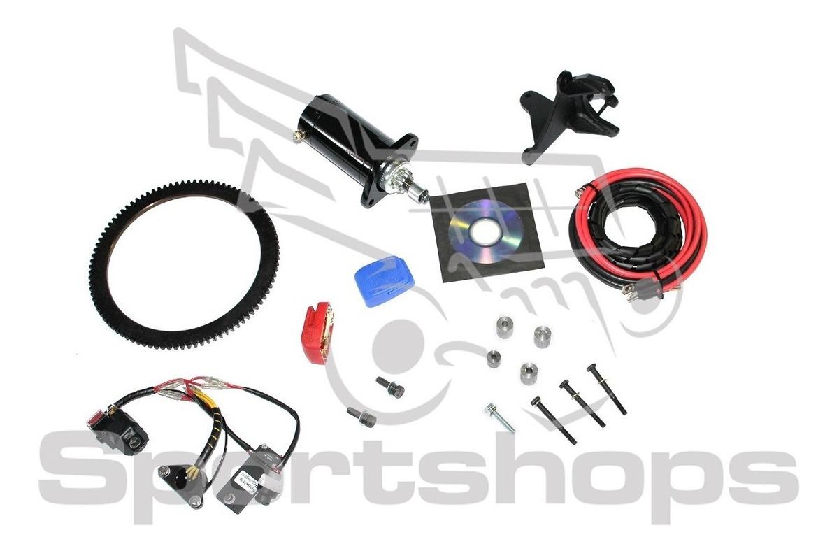 Kit Partida Eletrica Motor De Popa Johnson Evinrude 15 25