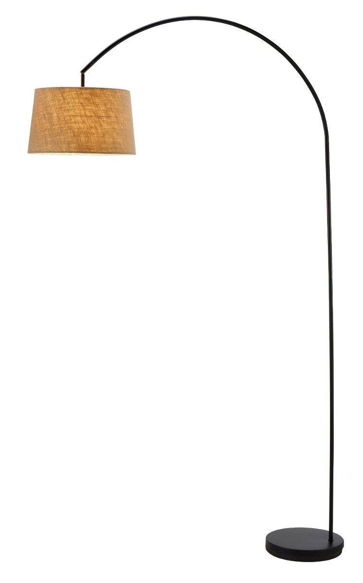 Lampara De Piso Arco Vertical Pie   329100 en Mercado