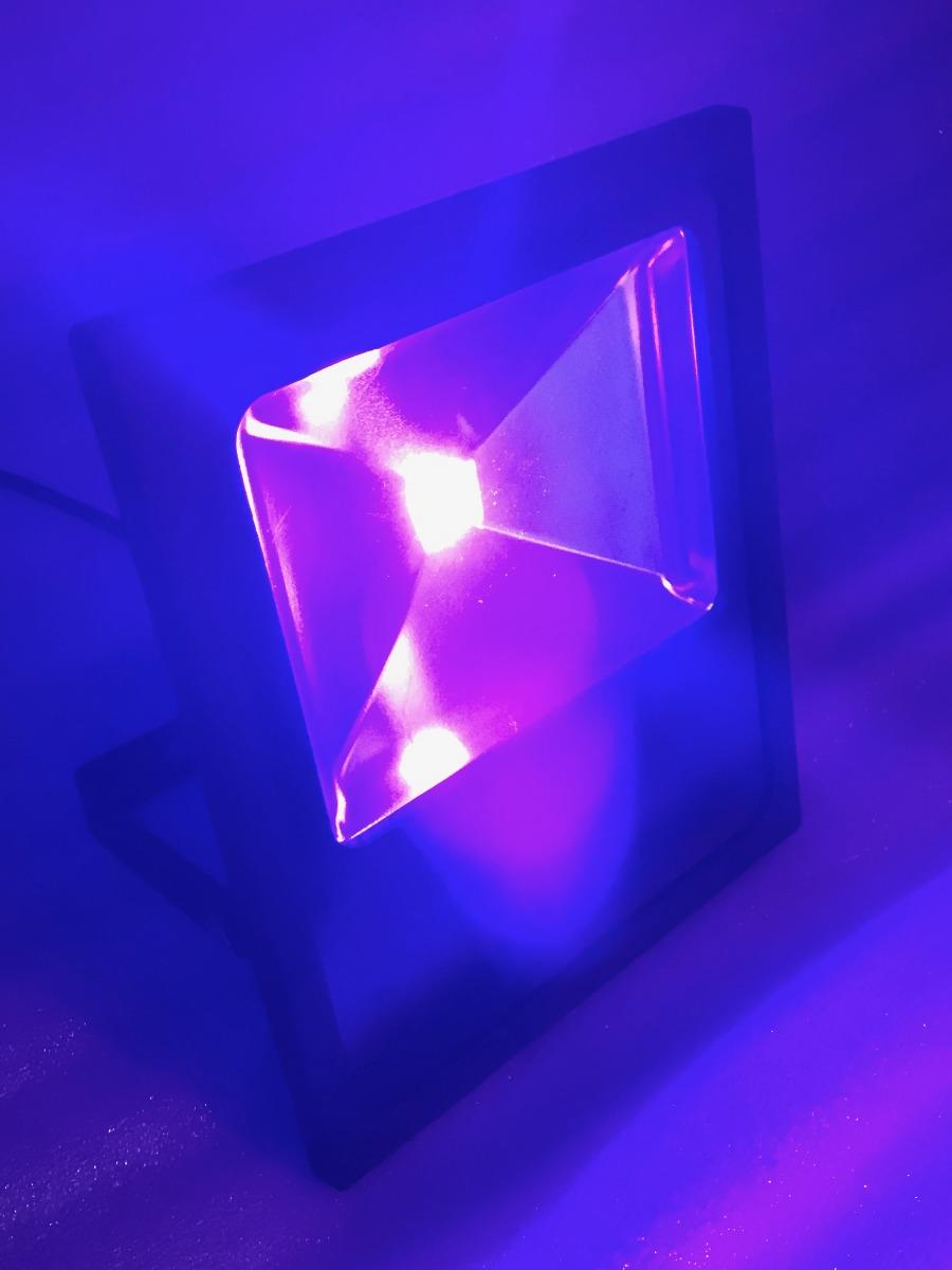 Lampara Led Luz Negra 100 Watt Uv 397nm Fiesta Neon