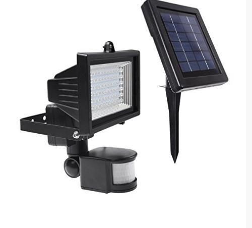 Lmpara Solar De Seguridad 60 Leds Para Exteriores Panel Sol   84900 en Mercado Libre