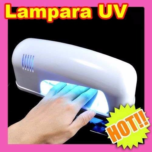 Lampara Uv Para Uas 9w Acrilico Gel Decoracion Finish L2