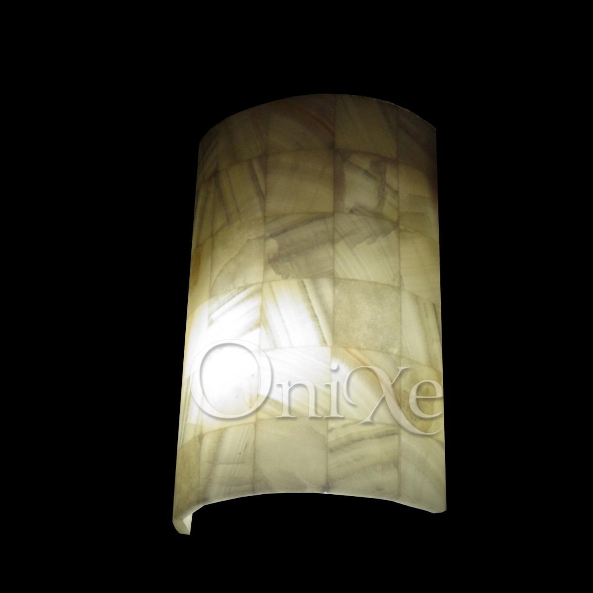 Lamparas De Onix De Pared   65000 en Mercado Libre