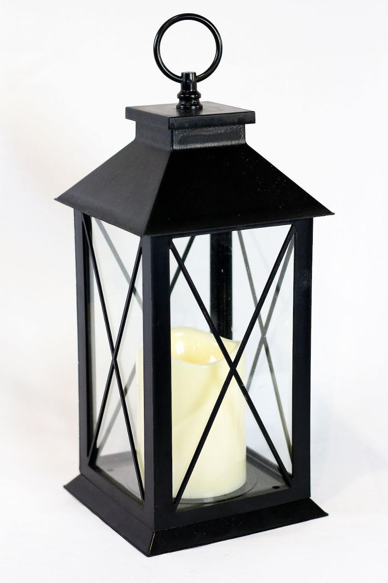 Lanterna Lamparina Com Vela De Led Para Decorao  R 12900 em Mercado Livre