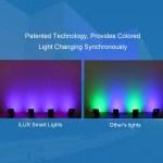 Le Ilux Smart Led Flood Light Outdoor Plug In 10w Rgb Dim 163 900 En Mercado Libre