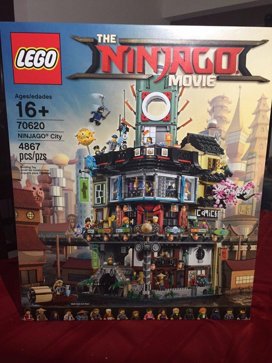Lego 70620 Ninjago City, Nuevo, Unico En Mercado Libre