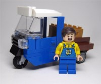 Lego #76026 Camioneta Banana Truck + Chofer %100 Lego