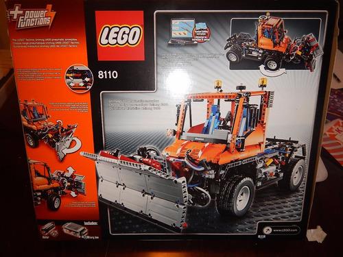 Lego 8110 Technic Unimog ** Unico En Mercado Libre