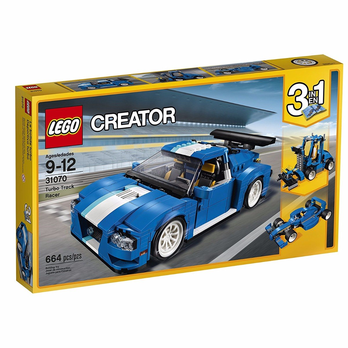 Lego Carro 3 En 1 *envio Gratis
