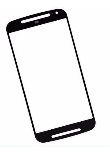 Lente Tela Vidro S/ Sem Touch Motorola Moto G2 Xt1078