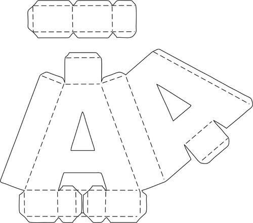 Letras Números 3d Corte Manual Png, Sgv, Pdf, Sillhouette