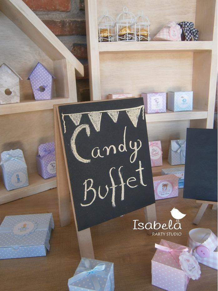 Letrero Pizarrn Para Candy Bar Mesa De Dulces   7000